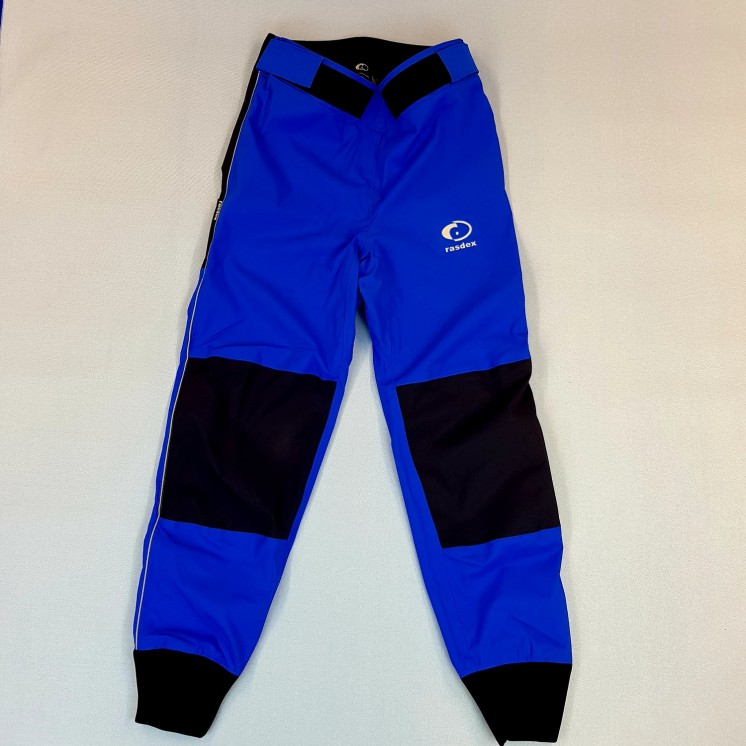 adventure pants blue