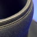 Edge banding detail on bodytube top